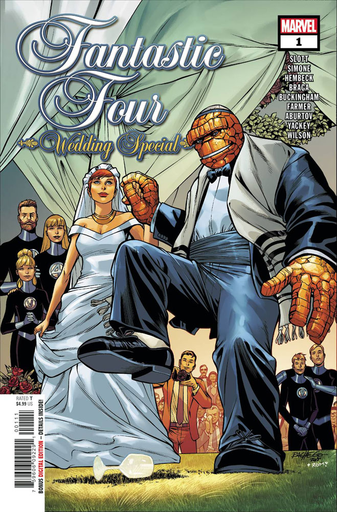 Image: Fantastic Four: Wedding Special #1  [2018] - Marvel Comics