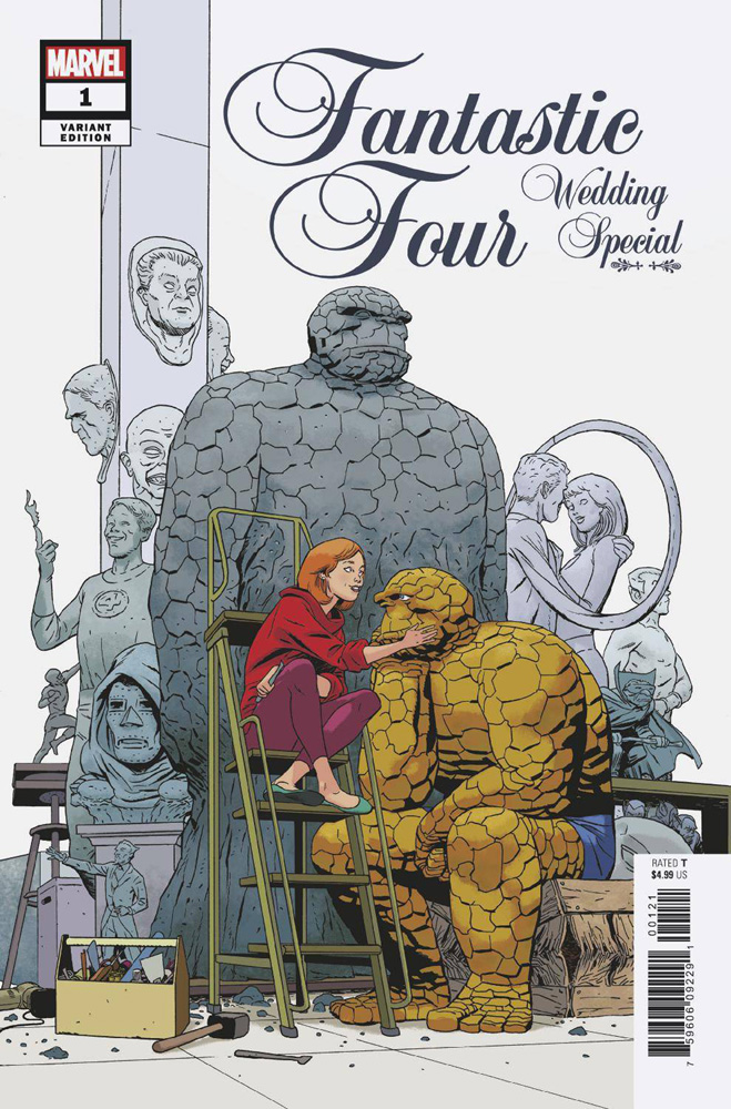 Image: Fantastic Four: Wedding Special #1 (variant cover - Martin)  [2018] - Marvel Comics