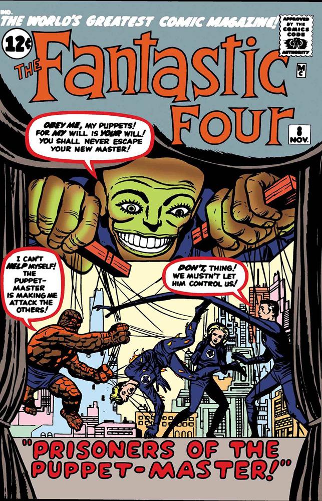 True Believers: Fantastic Four - Puppet Master
