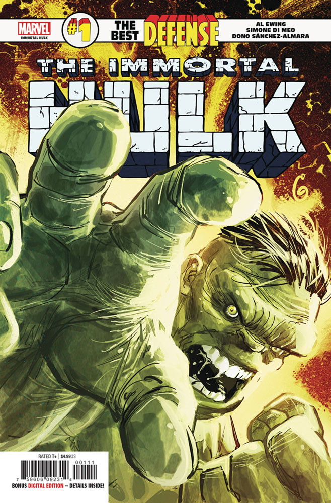 Image: Immortal Hulk: The Best Defense #1  [2018] - Marvel Comics