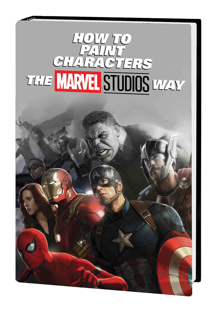 Image: How to Paint Characters the Marvel Studios Way HC  - Marvel Comics