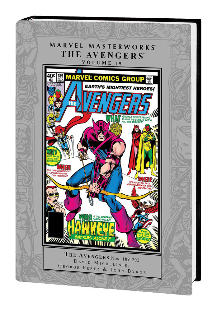 Image: Marvel Masterworks: The Avengers Vol. 19 HC  - Marvel Comics