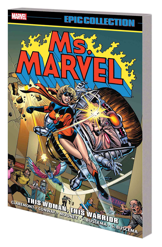 Ms. Marvel Epic Collection Vol. 1: This Woman, This Warrior
