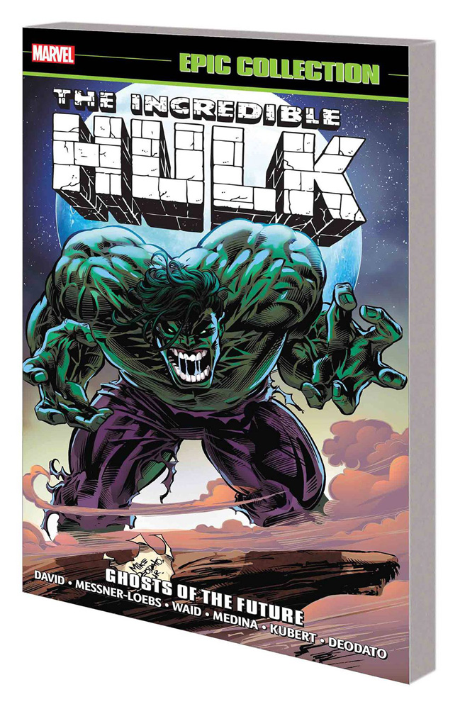 Image: Incredible Hulk Epic Collection: Ghosts of the Future SC  - Marvel Comics