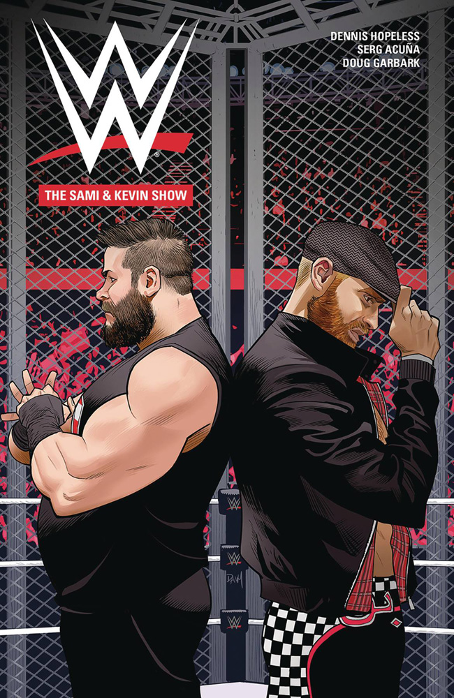 Image: WWE: Sami & Kevin Show GN  - Boom! Studios