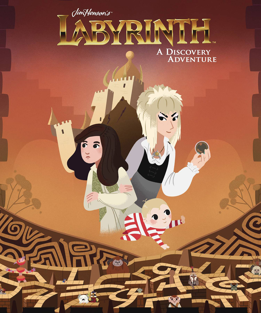 Image: Jim Henson's Labyrinth: A Discovery Adventure HC  - Boom! Studios