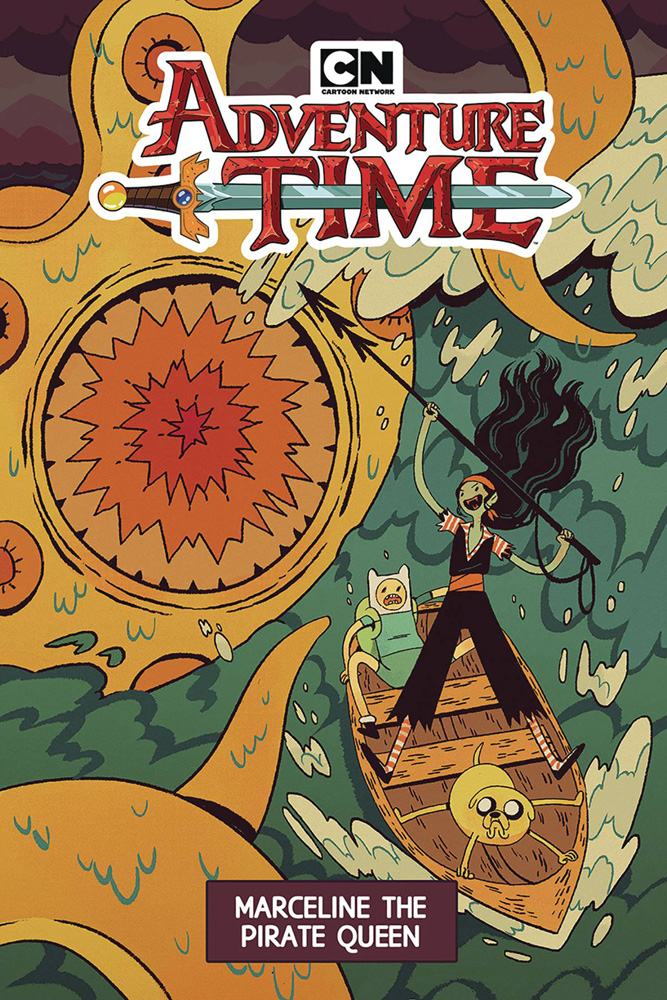 Image: Adventure Time: Marceline the Pirate Queen SC  - Boom! Studios