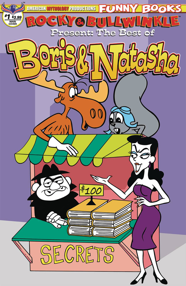 Rocky and Bullwinkle Present: The Best of Boris and Natasha #1