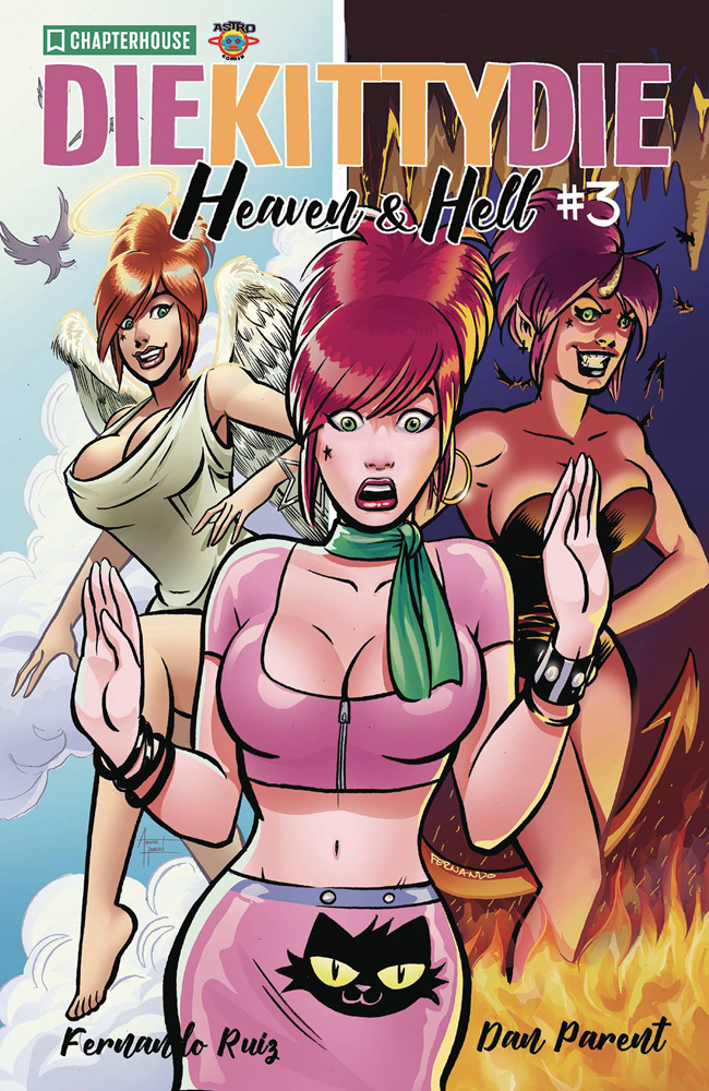 Image: Die Kitty Die!: Heaven & Hell #3 (cover A) - Chapterhouse Publishing, Inc