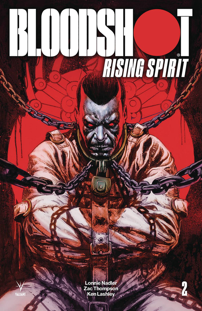 Image: Bloodshot: Rising Spirit #2 (cover C incentive - Manco) (20-copy)  [2018] - Valiant Entertainment LLC