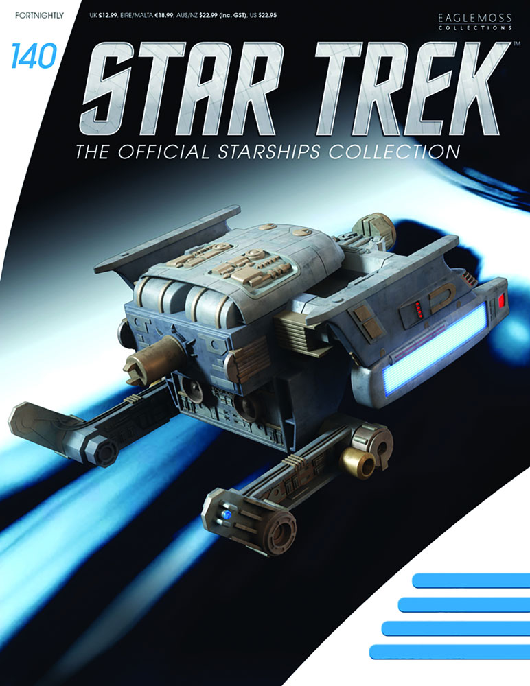 Star Trek Official Starships Collection: Federation Tug #140 - Eaglemoss Publications Ltd