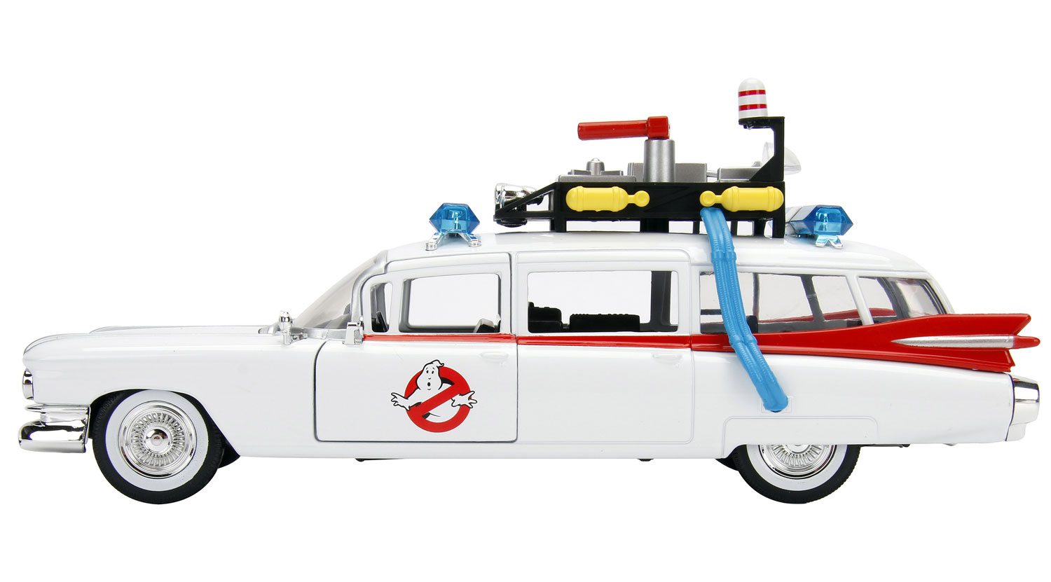 Hollywood Rides Metals Die Cast: Ghostbusters Ecto-1  - Jada Toys, Inc