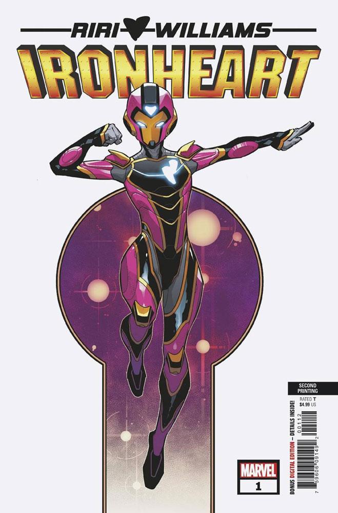 Ironheart #10 MARVEL COMICS RIRI 2019 COVER A 1ST PRINT EWING