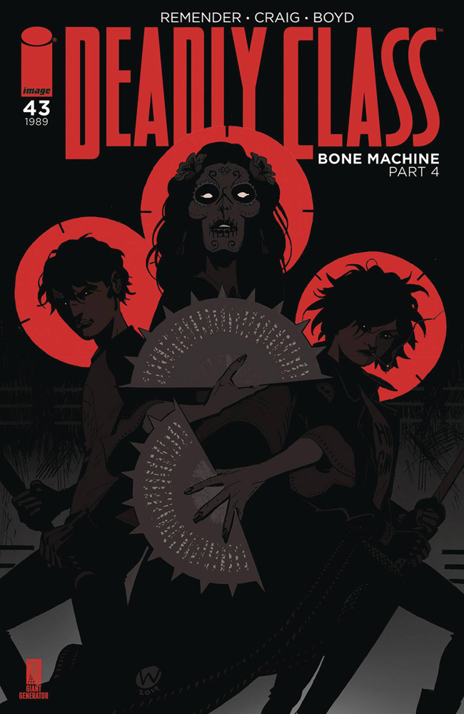 Image: Deadly Class #43 (cover A - Craig)  [2019] - Image Comics