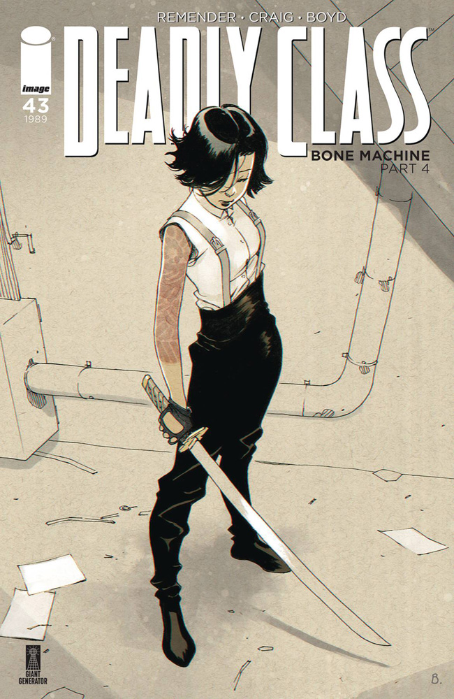 Image: Deadly Class #43 (cover B - Bengal) - Image Comics