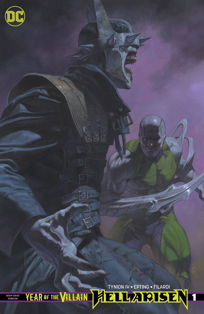 Image: Year of the Villain: Hell Arisen #1 (variant cover - Riccardo Federici)  [2019] - DC Comics