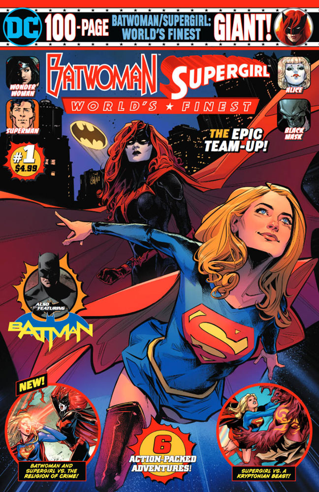 Batwoman/Supergirl: World's Finest