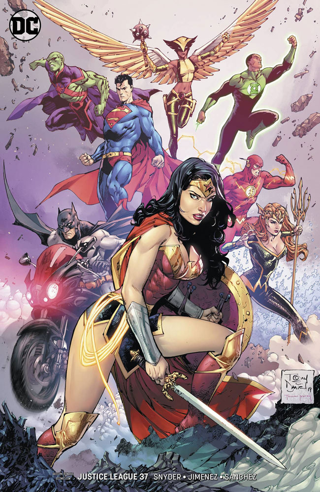 Image: Justice League #37 (variant cover - Tony S. Daniel) - DC Comics