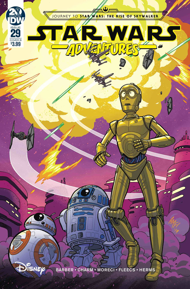 Image: Star Wars Adventures #29 (cover B - Fleecs) - IDW Publishing
