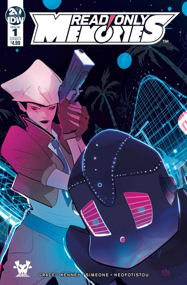 Image: Read Only Memories #1 (cover A - Simeone) - IDW Publishing