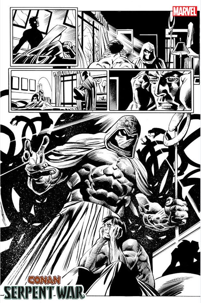 Conan: Serpent War #1 (incentive 1:25 cover - Neal Adams)  [2019] - Marvel Comics