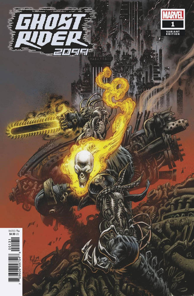 Image: Ghost Rider 2099 #1 (incentive 1:25 cover - Hotz)  [2019] - Marvel Comics