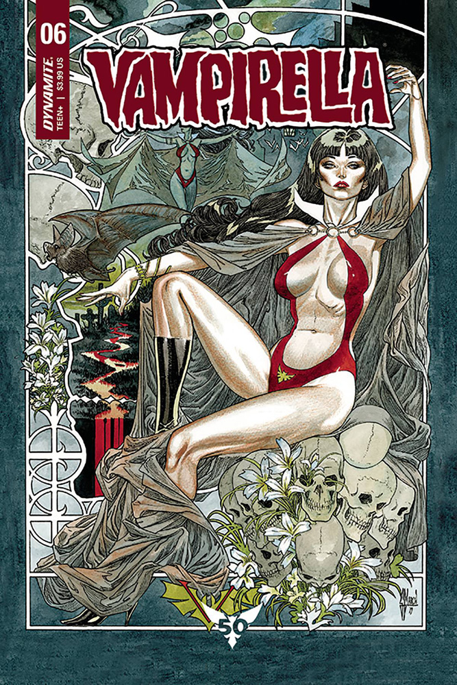 Image: Vampirella Vol. 05 #6 (cover B - March) - Dynamite