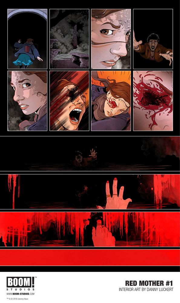 Red Mother #1 (cover B - Luckert) - Boom! Studios