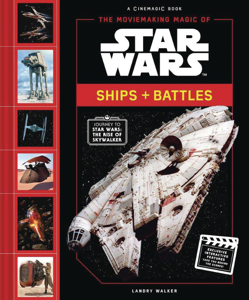 Image: Moviemaking Magic of Star Wars: Ships & Battles HC  - Abrams
