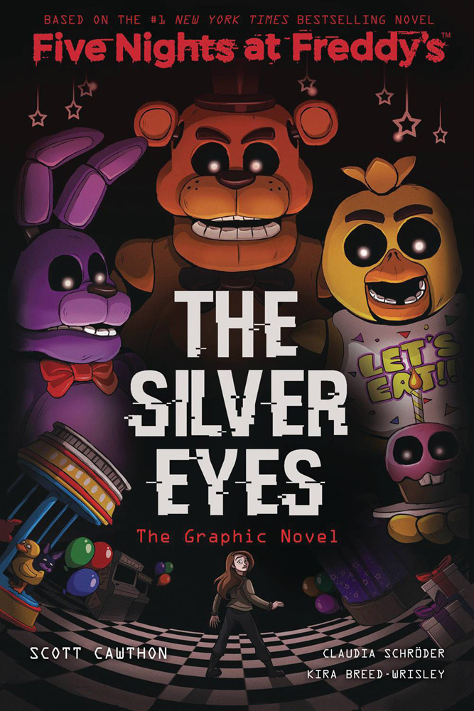 Image: Five Nights at Freddy's Vol. 01: Silver Eyes GN  - Scholastic Inc.