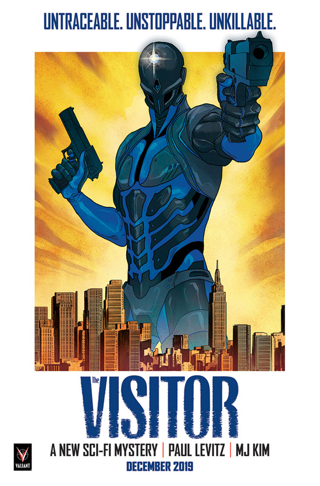 Visitor #1 (cover D - Blank sketch) - Valiant Entertainment LLC