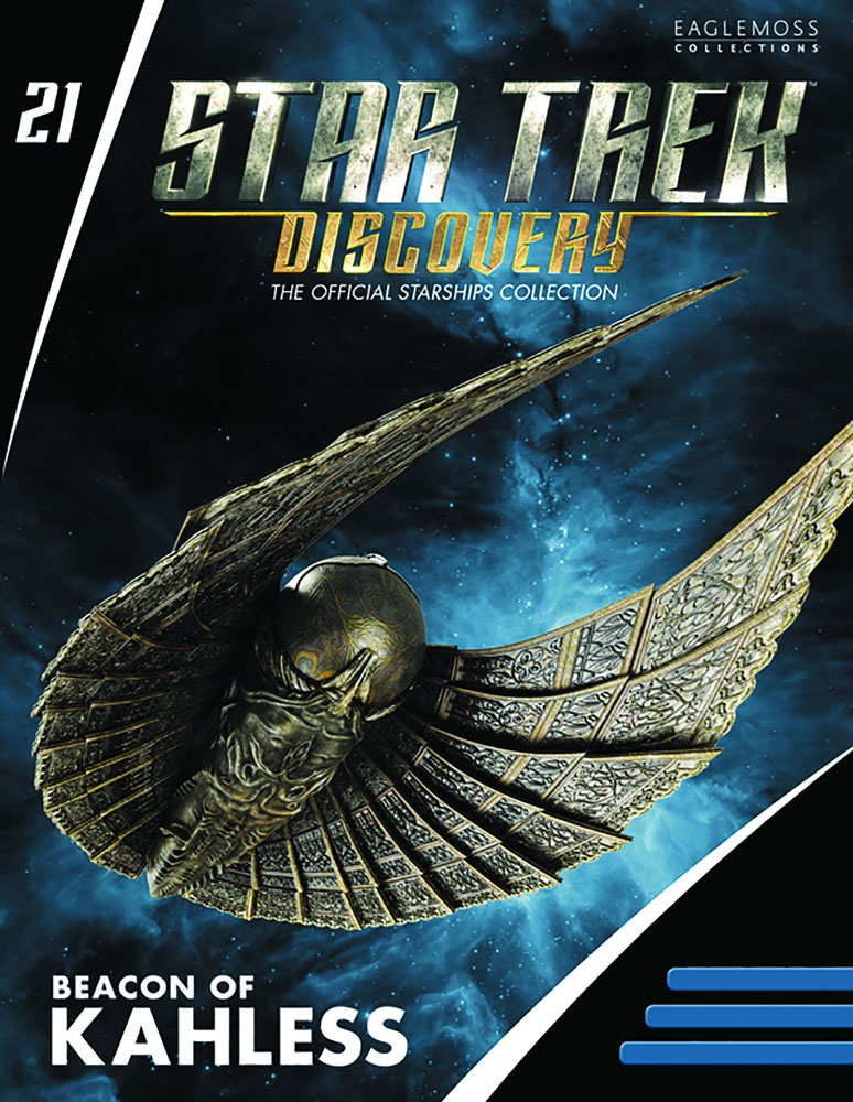 Star Trek Discovery Figure Magazine #21 (Beacon of Kahless) - Eaglemoss Publications Ltd