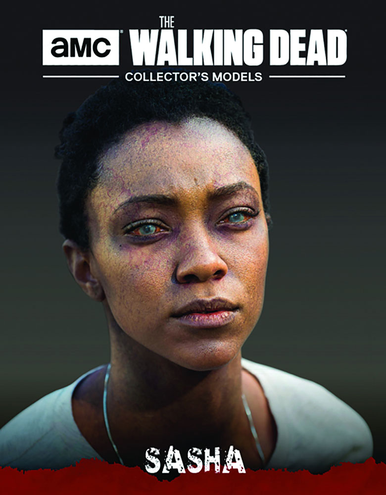 Walking Dead Figure Magazine #33 (Sasha) - Eaglemoss Publications Ltd
