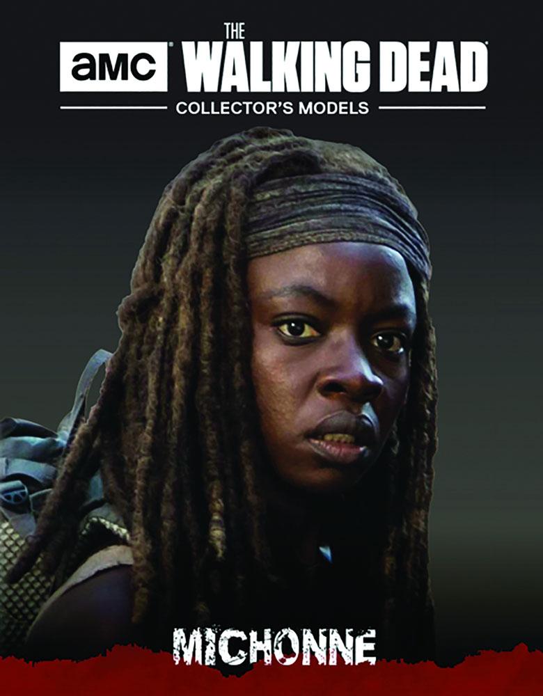 Walking Dead Figure Magazine #34 (Michonne) - Eaglemoss Publications Ltd