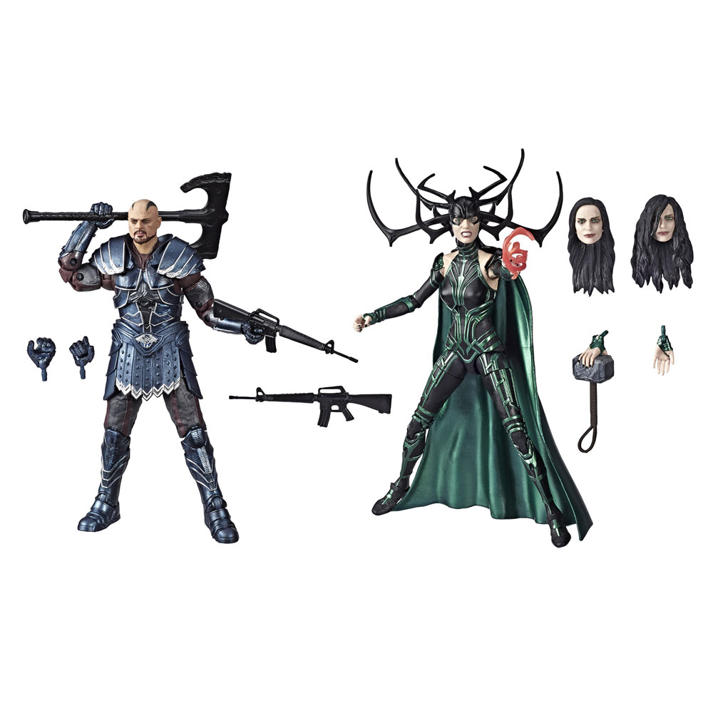 Marvel Legends 80th Ann Skurge/Hela Action Figure Set Case  (6-inch) - Hasbro Toy Group