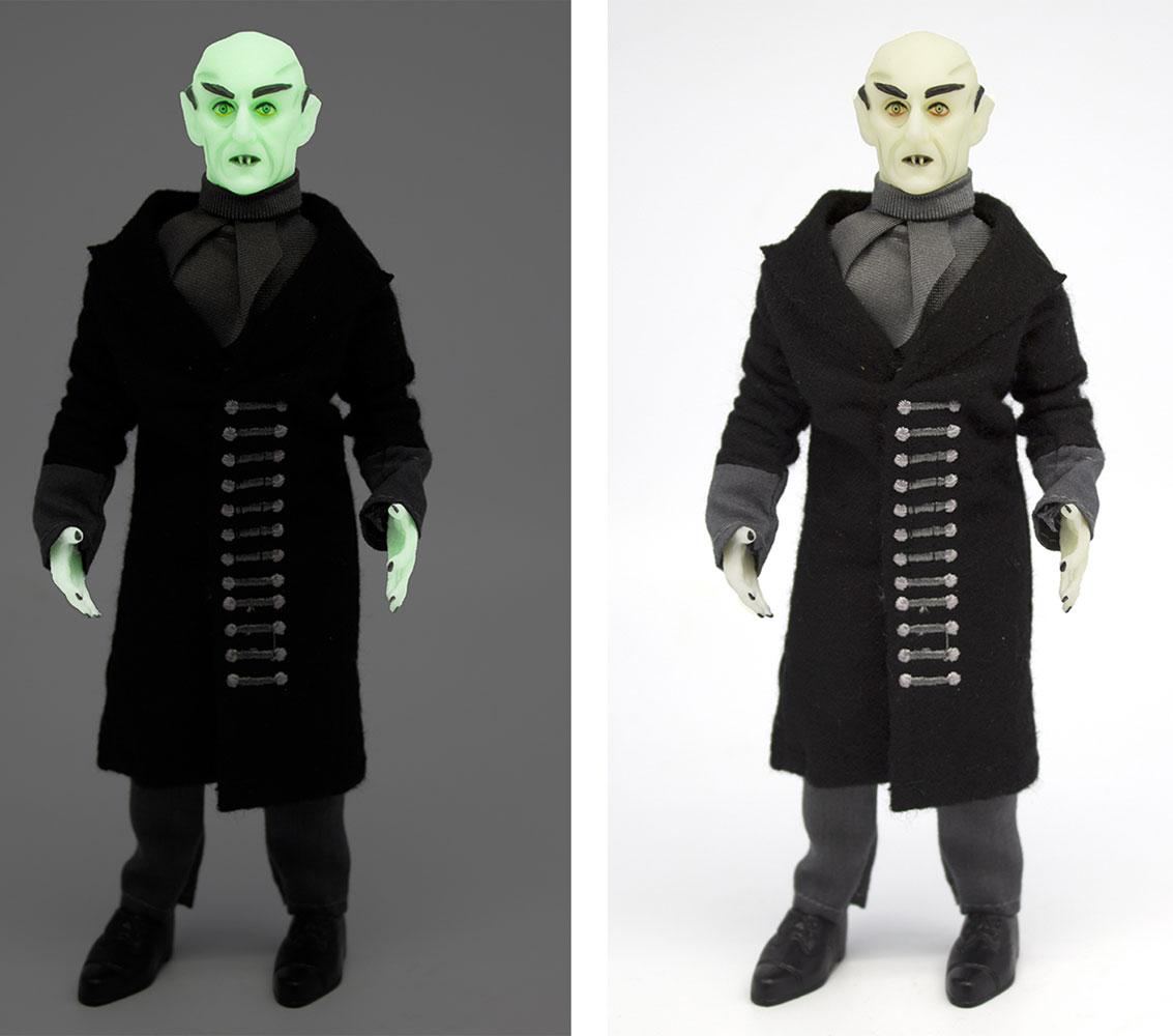 Mego Horror Wave 6 Action Figure: Nosferatu  (Glow-in-the-Dark) (8-inch) - Mego Corporation