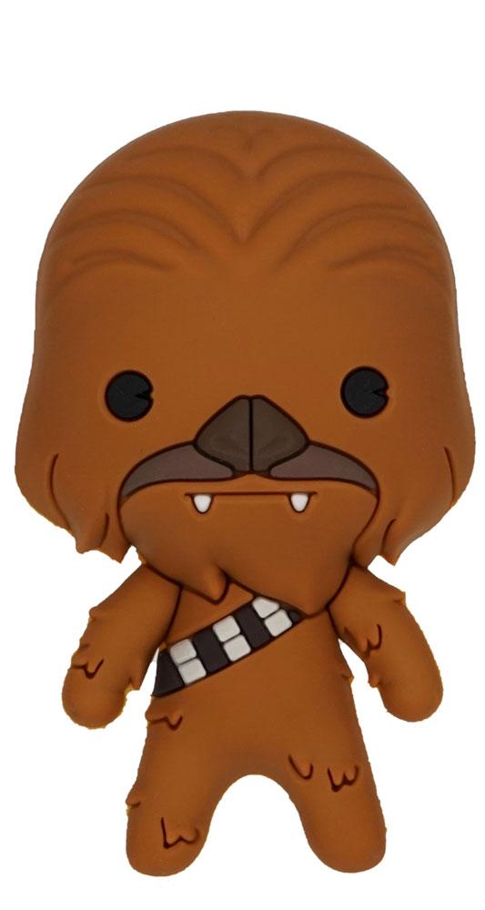 Star Wars 3D Foam Magnet: Chewbacca  - Monogram Products