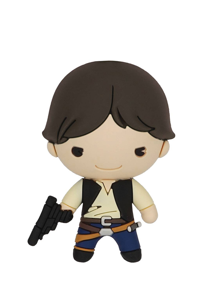 Image: Star Wars 3D Foam Magnet: Han Solo  - Monogram Products