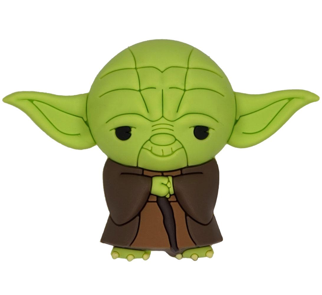 Star Wars 3D Foam Magnet: Yoda  - Monogram Products