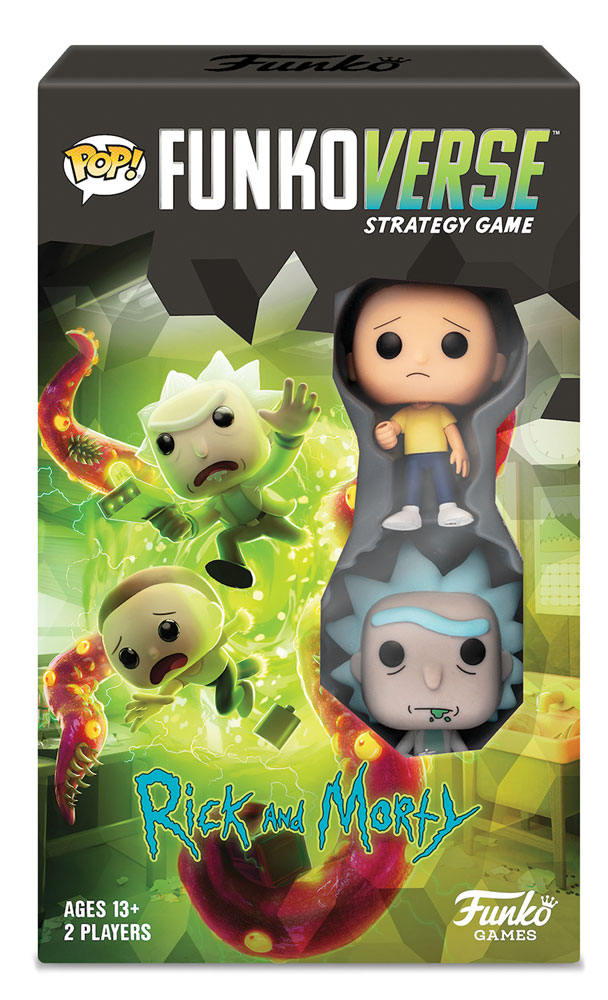 Pop! Funkoverse Strategy Game: Rick & Morty 100 Expandalone  - Funko
