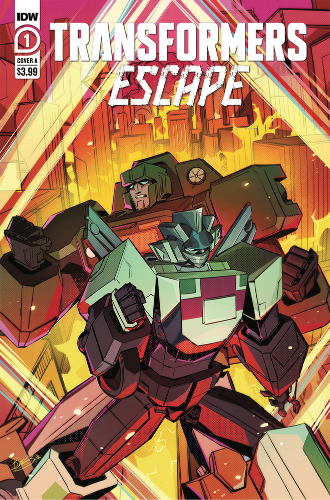 Image: Transformers Escape #1 (cover A - McGuire-Smith) - IDW Publishing
