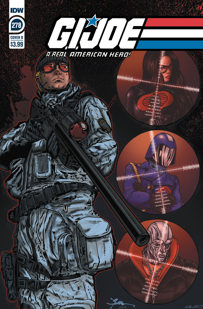 Image: G.I. Joe: A Real American Hero #278 (cover B - Jamie Sullivan) - IDW Publishing