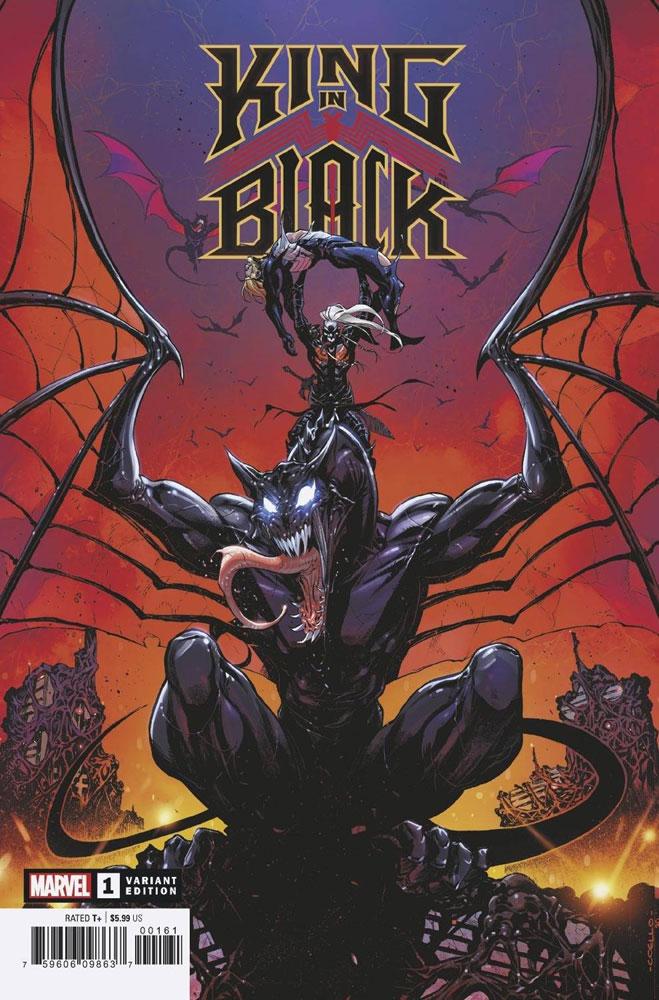 King in Black #1 (incentive 1:50 Dragon cover - Coello) - Westfield Comics
