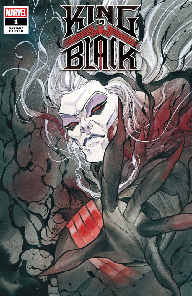 Image: King in Black #1 (variant cover - Momoko) - Marvel Comics