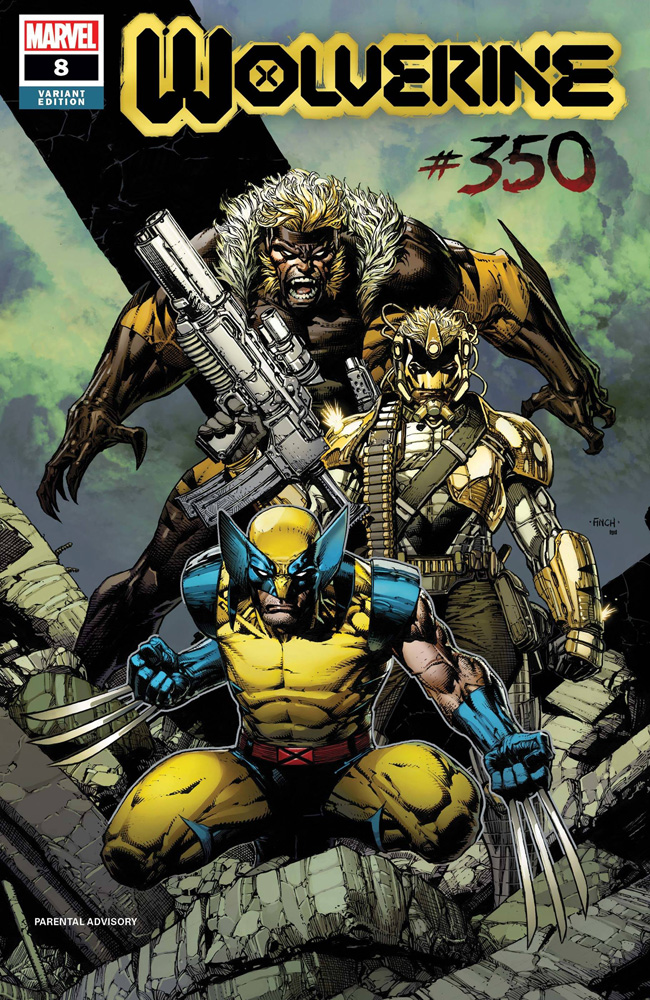 Image: Wolverine #8 (XoS) (incentive 1:25 cover - Finch)  [2020] - Marvel Comics