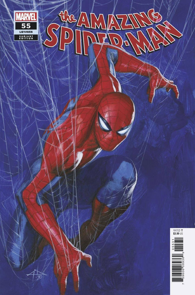 Image: Amazing Spider-Man #55 (variant cover - Dell'Otto) - Marvel Comics