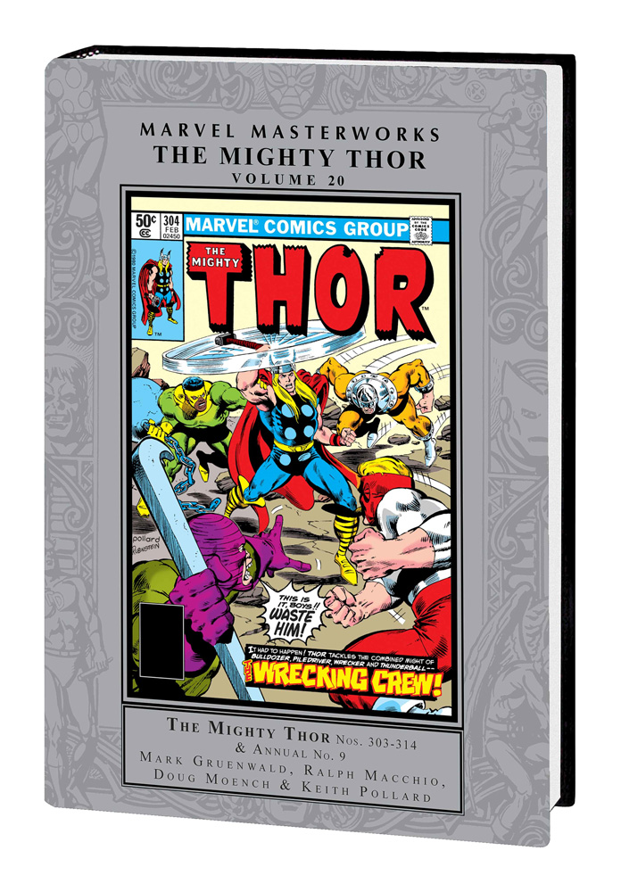 Image: Marvel Masterworks: Mighty Thor Vol. 20 HC  - Marvel Comics