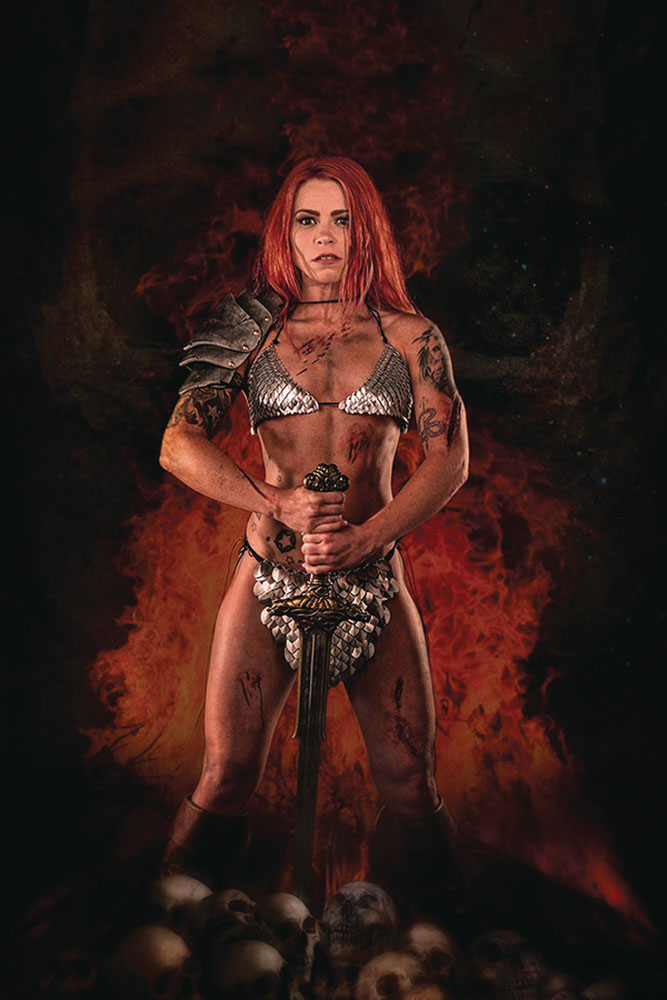 Image: Red Sonja: Price of Blood #1 (incentive 1:20 cover - Cosplay virgin)  [2020] - Dynamite