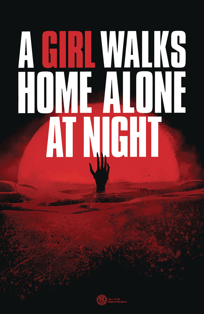 Image: A Girl Walks Home Alone at Night #2 (cover A - Deweese) - Behemoth Comics
