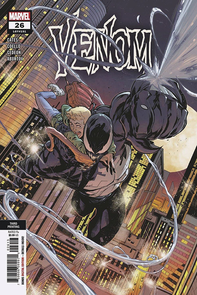 Image: Venom #26 (variant 3rd printing cover) (DFE signed - Cates) - Dynamic Forces